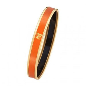 FreyWille Monochrome Bordered Bangle Mademoiselle - Tangerine Orange
