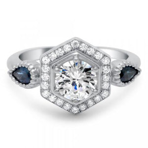 Engagement Ring Art Deco - 1