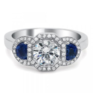 Engagement Ring Art Deco - 5