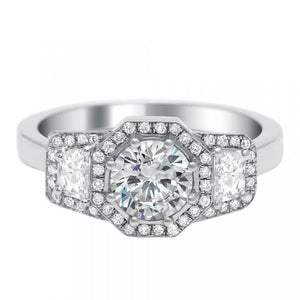 Engagement Ring Art Deco - 6