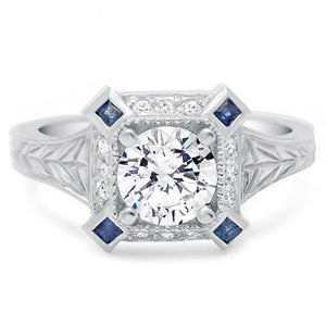 Engagement Ring Art Deco - 4