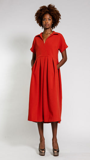 Rachel Comey Tempo Dress in Red
