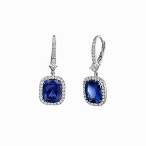 Signature Tanzanite and Diamond Earrings