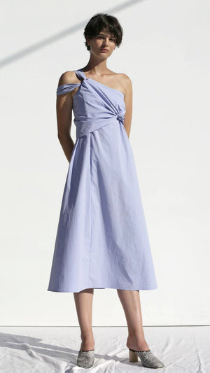 Lark Dress Poplin - Ceylon