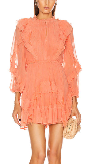 Ulla Johnson Aberdeen Dress - Coral