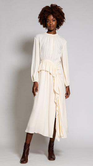 Ulla Johnson Odette Dress in Blanc