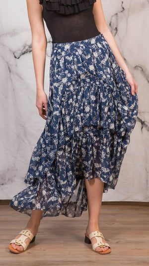 Ulla Johnson Marilyn Skirt - Azure