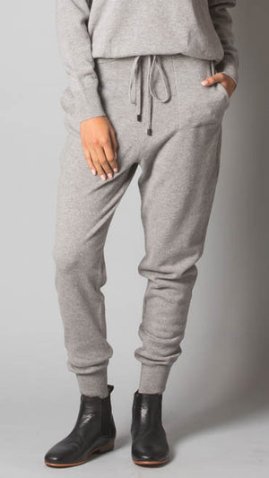 Drawstring Jogger Pants - Gray - On Sale