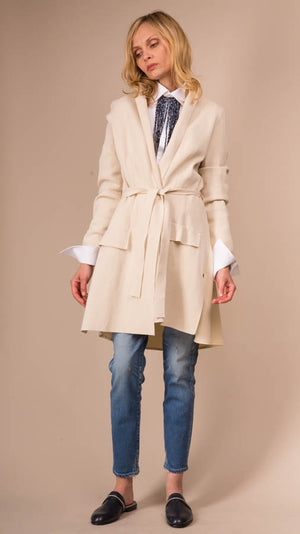 Tonet Long Cardigan - Beige