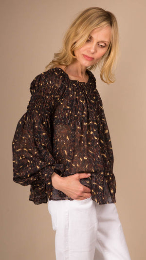 Ulla Johnson Farai Blouse - Jet