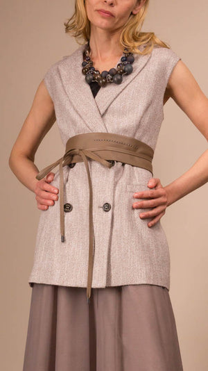 Eleventy Long Vest - On Sale