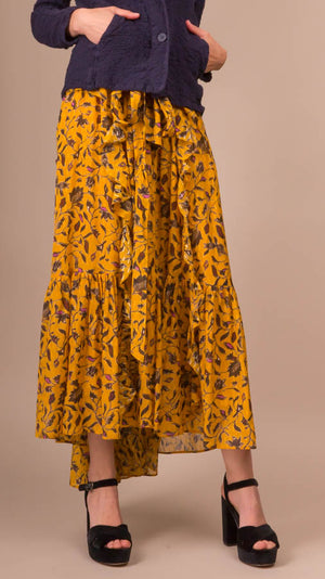 Ulla Johnson Fae Skirt - Amber