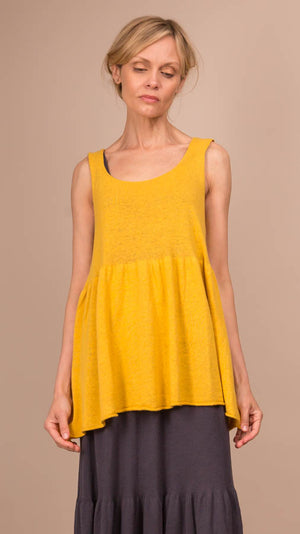 Lauren Manoogian Tier Tank - Sunflower