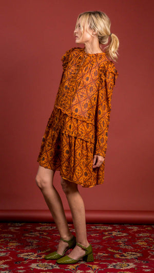 Ulla Johnson Esha Dress - Ochre
