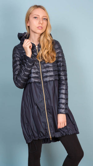 Parka With Hood - Navy