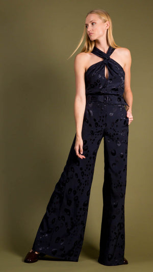 Alexis Donira High Waisted Jacquard Pant