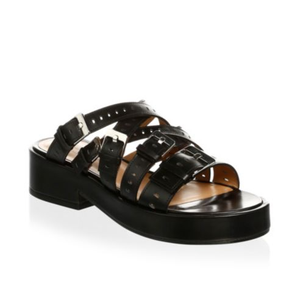 Clergerie - Fantom Platform Leather Sandals