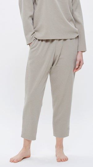 Black Crane Easy Pants - Ash