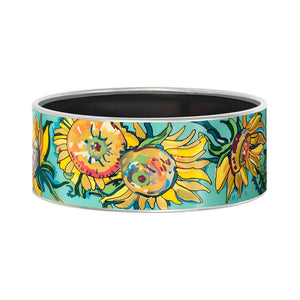 FreyWille Hommage A Vincent Van Gogh Fleurs D'or Jour - Bordered Donna Bangle
