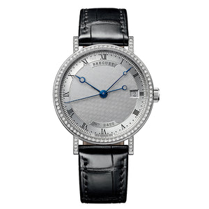 Breguet Classique 9068BB12976DD00 with Diamond Bezel in 18k White Gold