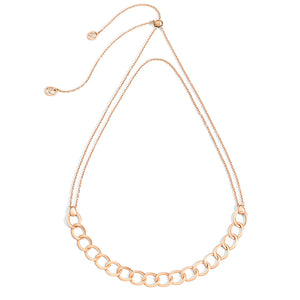 Pomellato Brera 18K Rose Gold Adjustable Choker Necklace