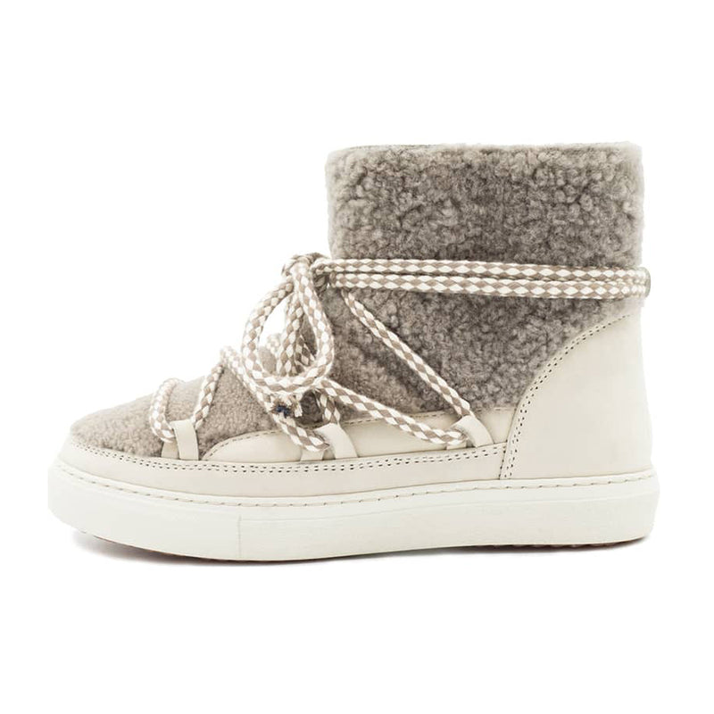 Curly Sneakers - Taupe