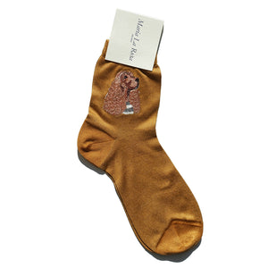 Maria La Rosa Ankle Socks - Dogs