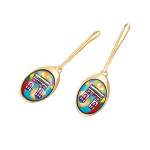 Frey Wille Mon Paris - Waterdrop Earrings