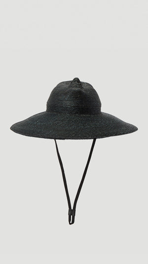 Flapper - Xenia Hat in Black