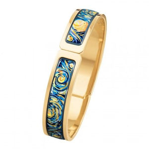 Hommage A Vincent Van Gogh - Ballerina Clasp Bangle - Eternite