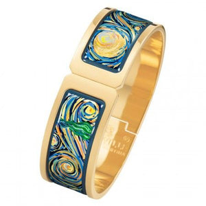 Hommage A Vincent Van Gogh - Regina Clasp Bangle - Eternite