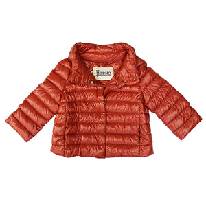Herno Iconico Jacket - Red Rust