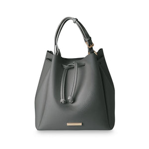 Chloe Bucket Bag - Charcoal