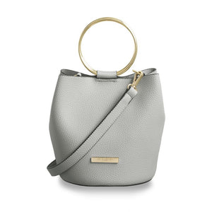 Katie Loxton Suki Bucket Bag in Pale Gray
