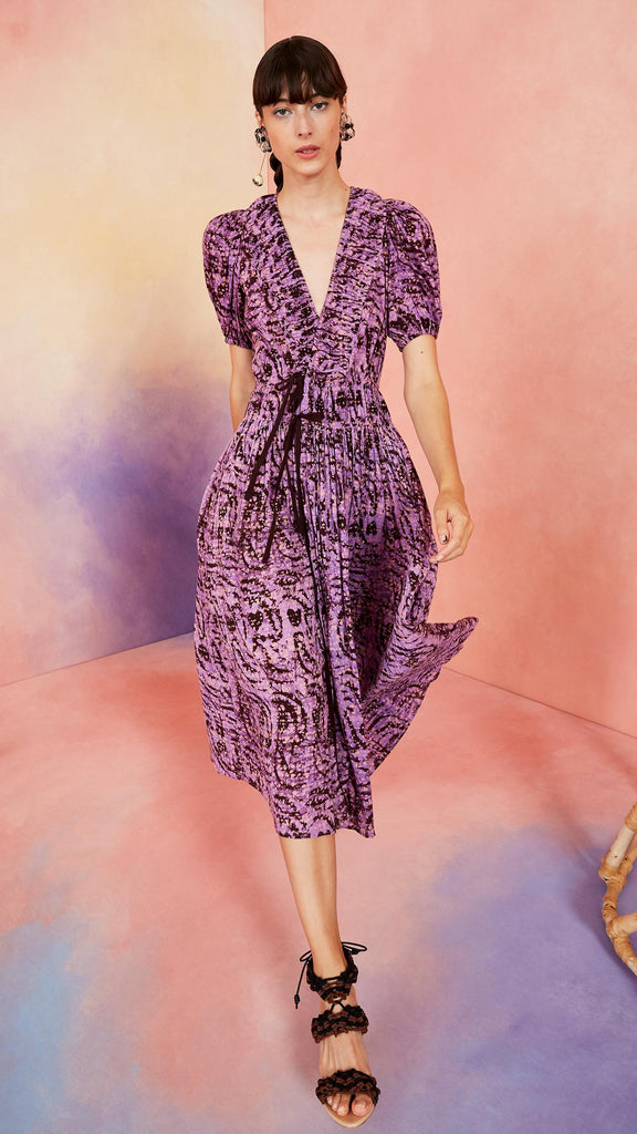 Ulla Johnson Kemala Dress - Lavender