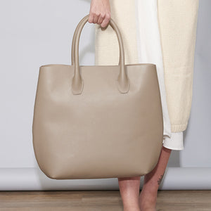 Large Tote Bag - Taupe