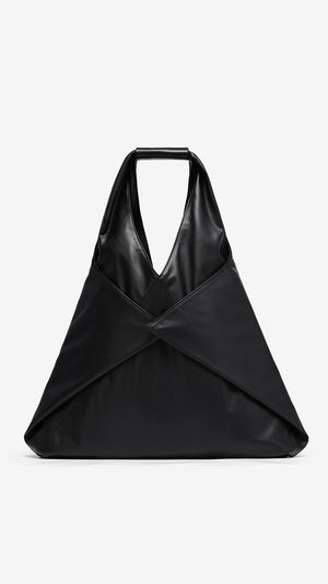 MM6 by Maison Margiela Folded Japanese Faux Leather Large Bag