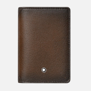 Montblanc Meisterstuck Sfumato Business Card Holder - Brown Leather