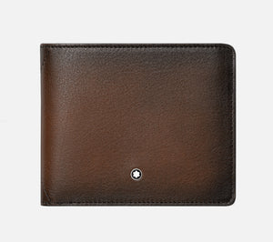 Montblanc Meisterstuck Sfumato Wallet 6cc - Brown Leather