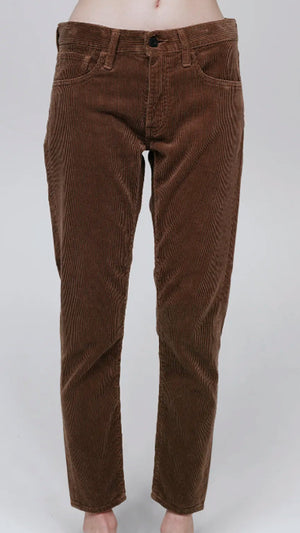 Moussy Alma Corduroy Pants - Brown