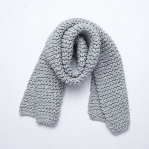 I Love Mr. Mittens Scarf - Light Gray