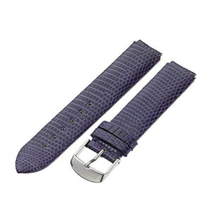 Philip Stein Lizard Watch Band - Purple
