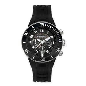 Men's 46mm Active Extreme Chronograph Watch - Black Stainless Steel