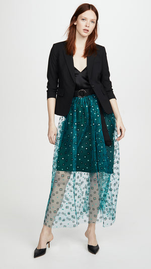 Rachel Comey Fetes Belt Skirt - Teal