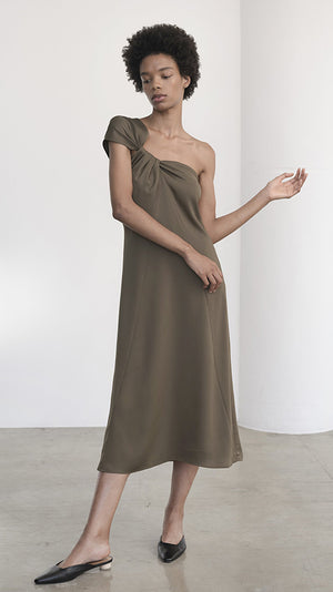 Shaina Mote Eres Dress - Olive