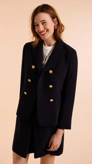 Tara Jarmon Viola Jacket - Midnight Blue
