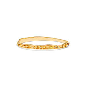 Temple St. Clair 18K Small River Waves Bangle