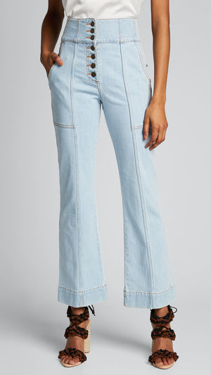 Ulla Johnson Ellis Jean - Light Wash