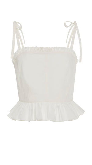 Ulla Johnson Filipa Tank - White