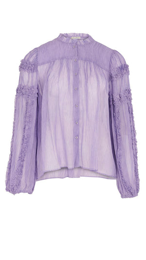Ulla Johnson Mari Blouse - Lavender
